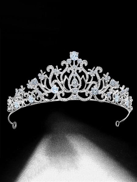 Aristocratic Lega Bridal Con Strass copricapo