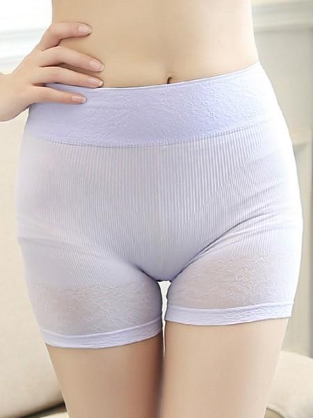 Morbido Women's Nylon Seamless Elastic Safety Pantaloni/Safety Cortos