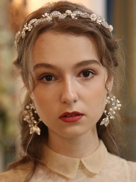 Exquisite Lega Con Perla copricapo