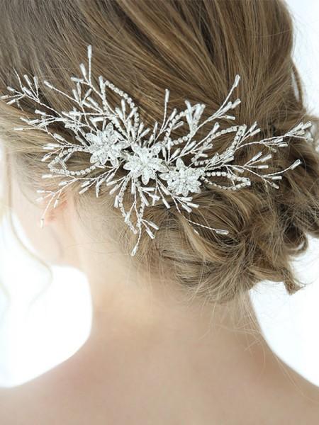 Charming Lega Con Cristalli copricapo