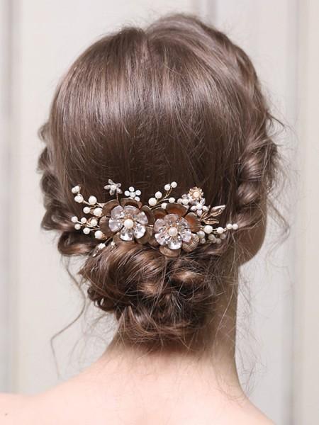 Glamorous Lega Con Perla copricapo