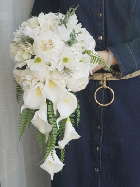 Fashion Cascata Silk Flower nuzialemazzi